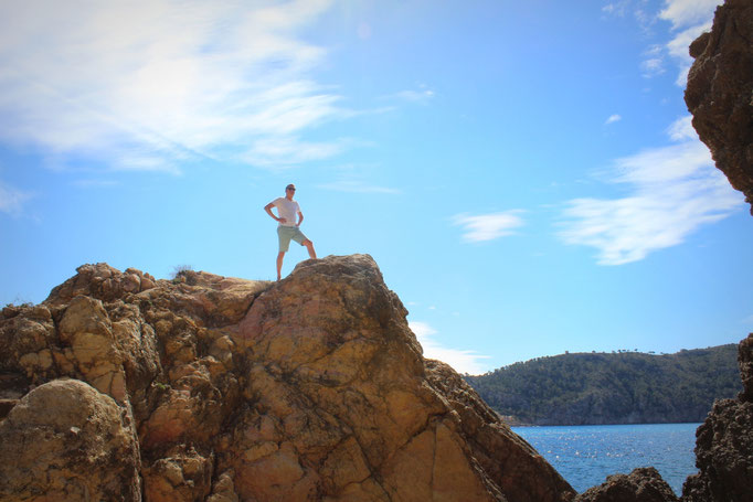 Cala en Cranc bei Camp de Mar