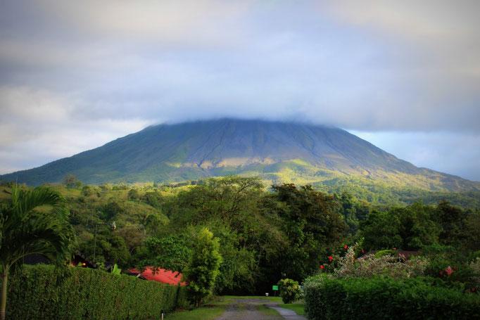 Blick auf den Arenal Vulkan, Costa Rica