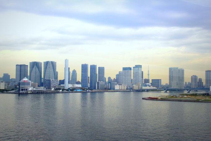 Die Skyline von Tokio