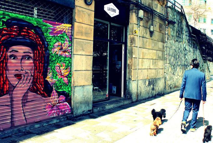 Streetart in Bilbao
