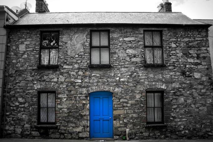 Historisches Backsteingebäude in Dublin