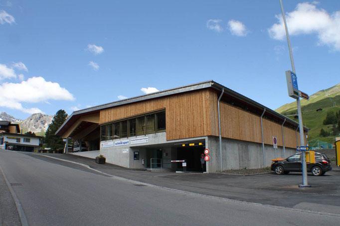 Parkhaus Brüggli Arosa
