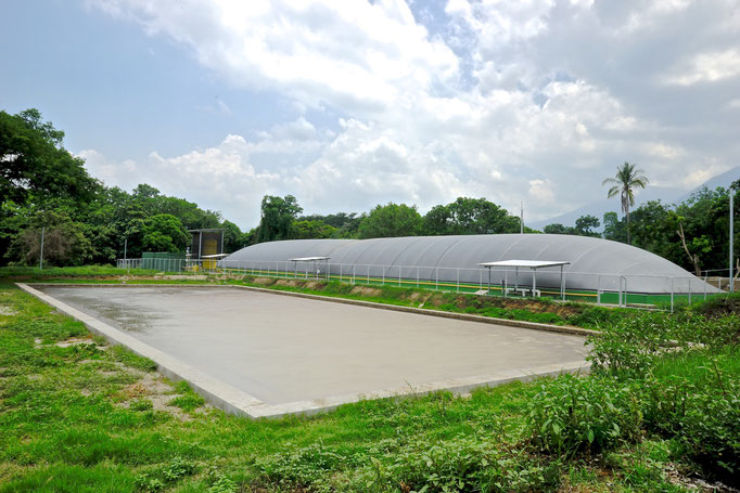 Planta de biogas - biodigestor - covered lagoon digester