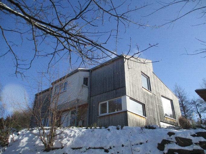 Haus Pitzn: Das Haus mit dem Knick im Grundriss...