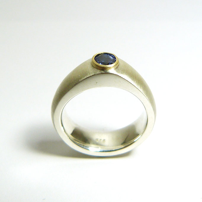 BLUESTAR Silber/Gold Tansanit