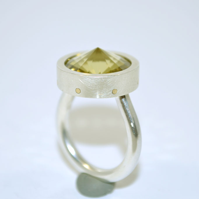 SPIRIT SUN Citrin Silber Gold
