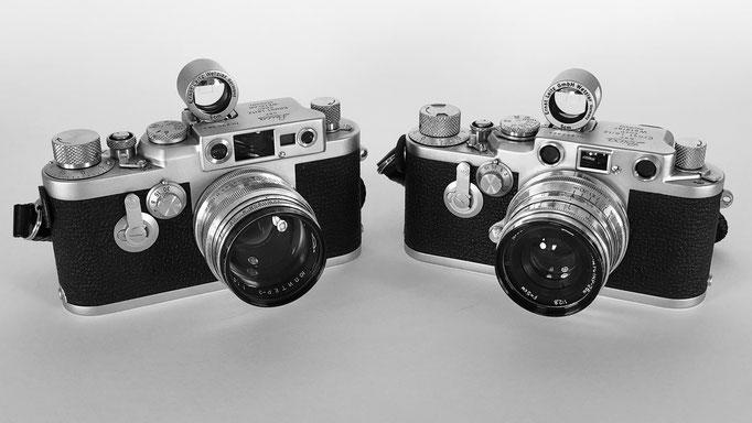 Leica iiig and iiif