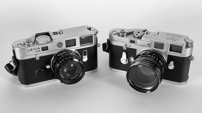 Leica M6 TTL and Leica M3