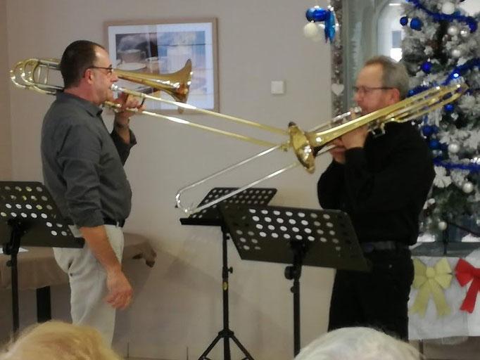 Un duel de trombones ?