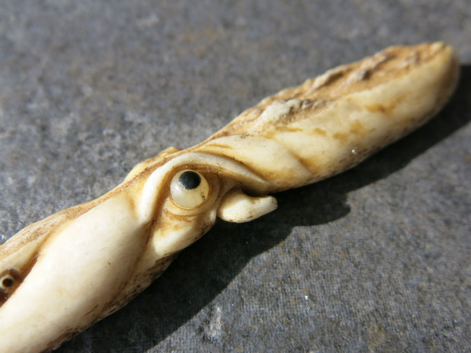 Octopus / Antler Carving