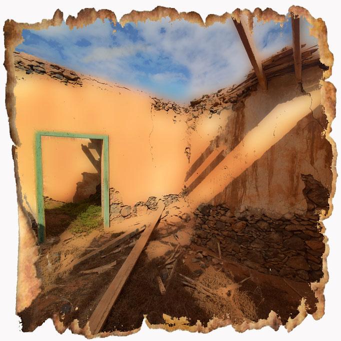 Zerfallenes Haus in Lanarote