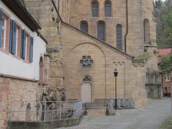 Südliche Kapellen aussen, Bild: H. Forsch