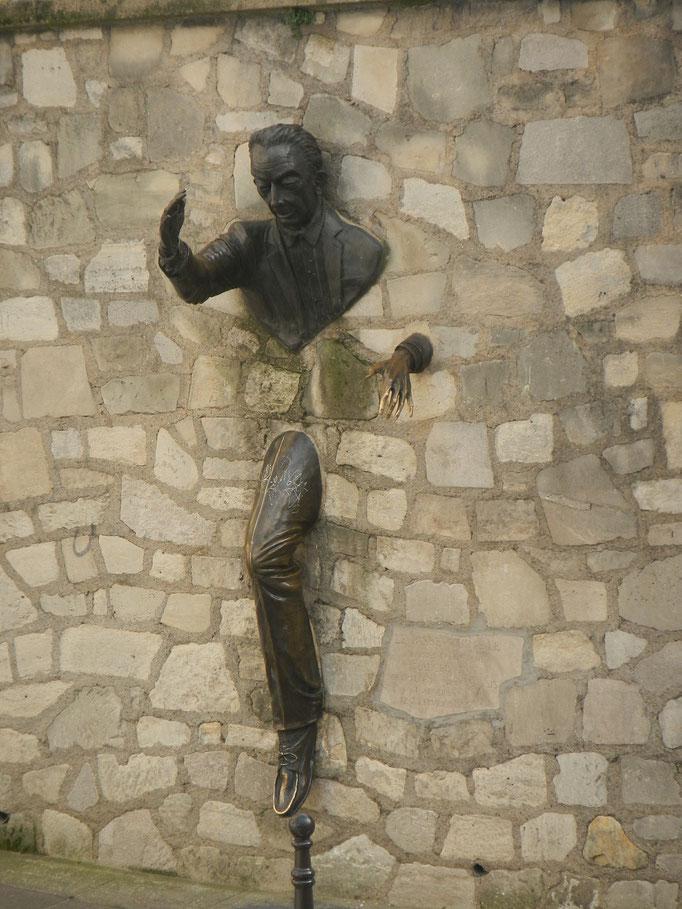 Visite privée Montmartre Paris Passe muraille