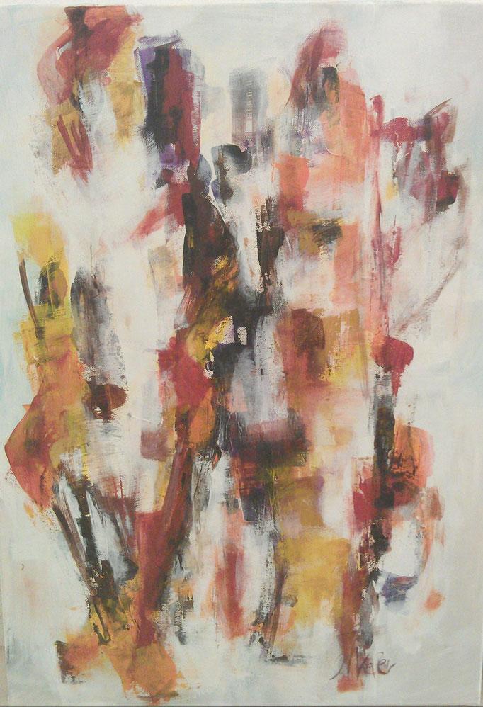 100x140 cm, Acryl auf LW