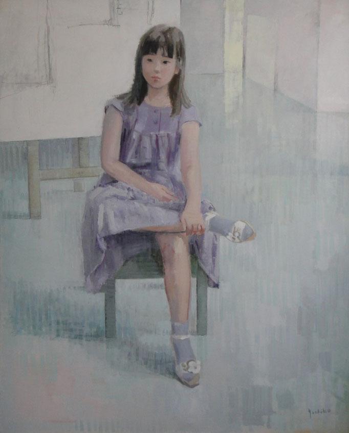 第44回(2012)日展   少女   F100             100号油彩