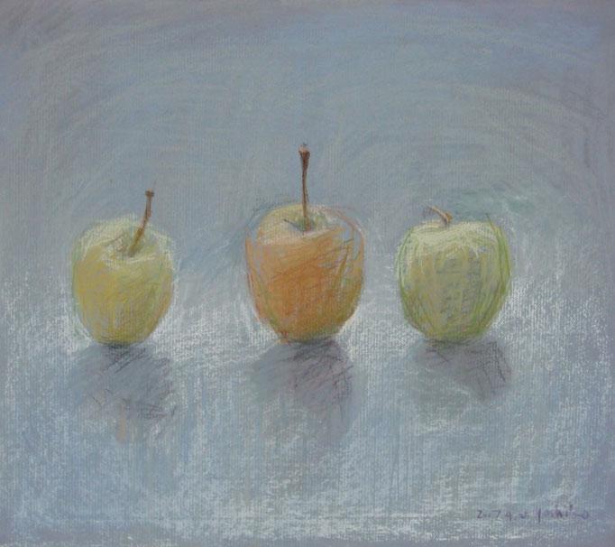 リンゴ(個人蔵)