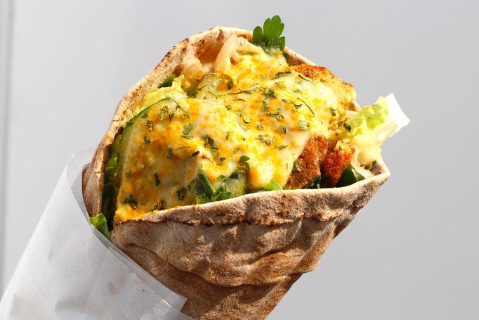 Falafel Wrap vegan Bonn Marktplatz
