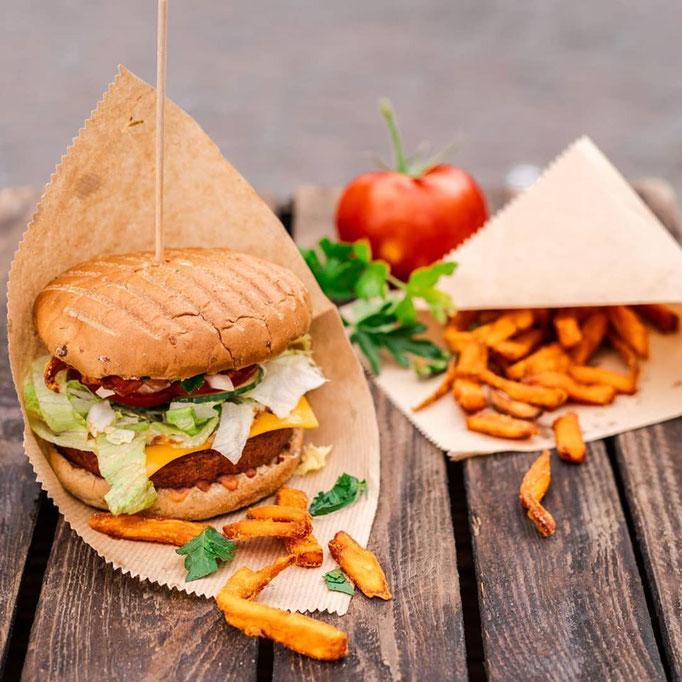 BeeV Burger vegan Bonn und Catering