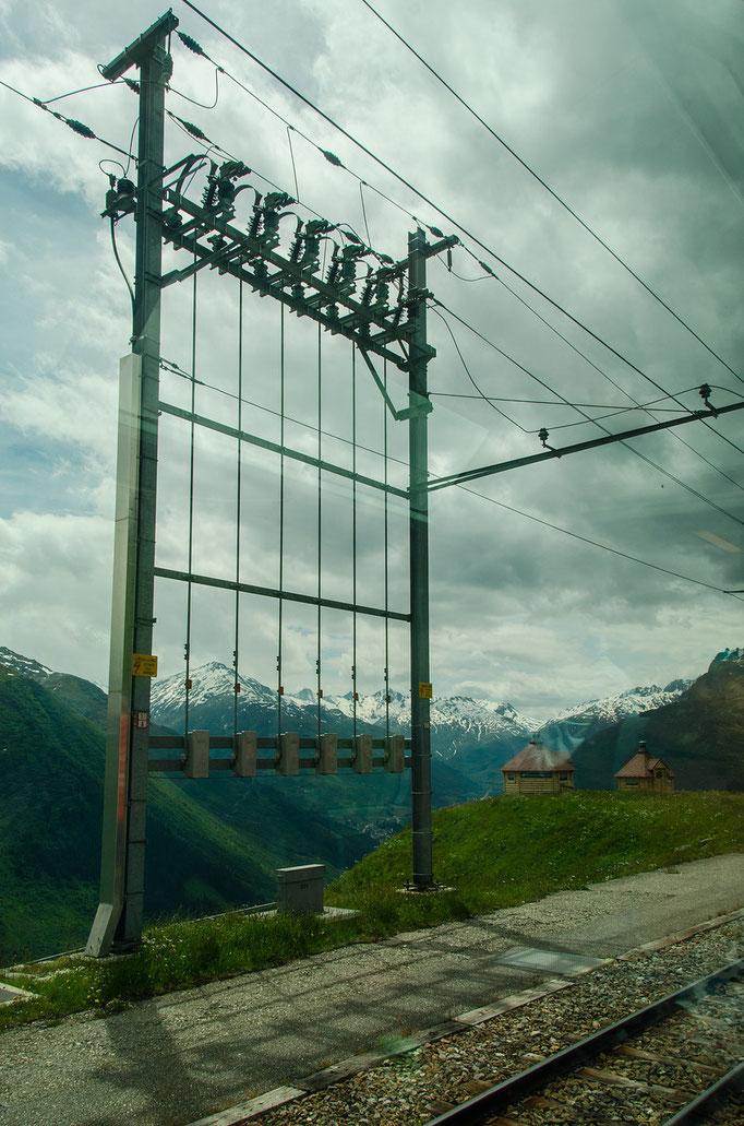 Hochalpine Bahnstrom-Schaltanlage