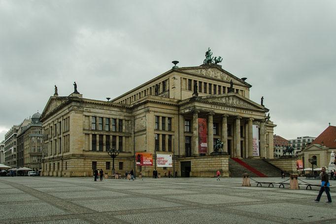 Gendarmenmarkt, Schauspiel- oder Konzerthaus