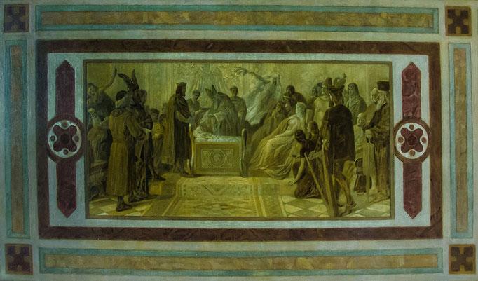 Wandgemälde im Kaisersaal