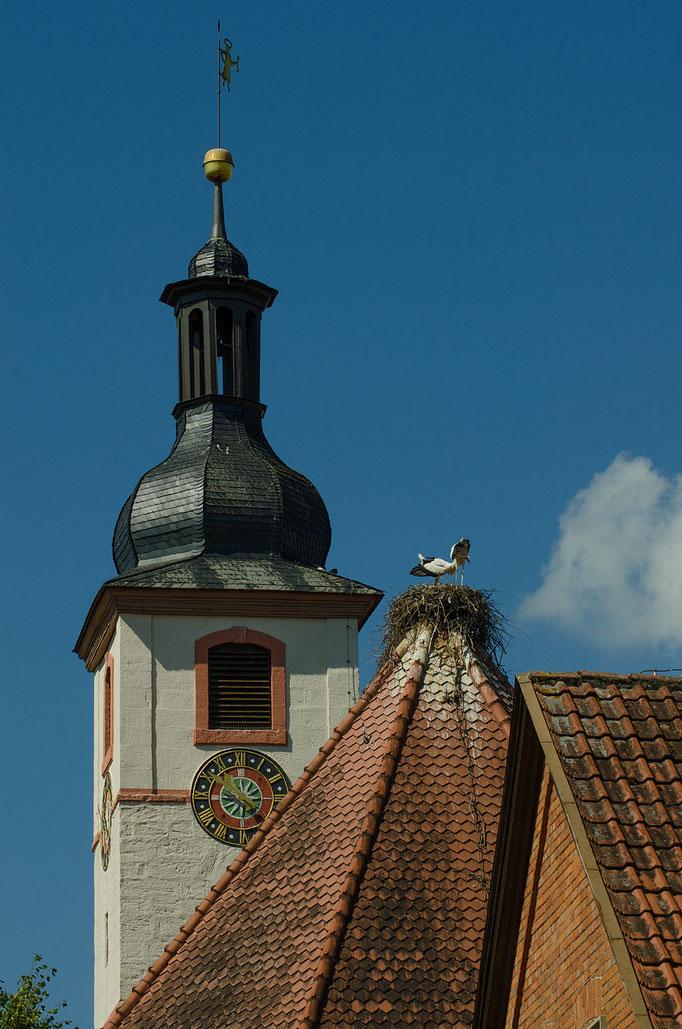 Gerhardshofen, Kirchendach