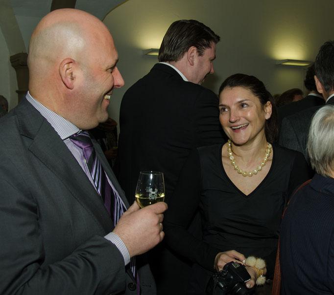 Thorsten Wallrapp und Frau Elke Nann