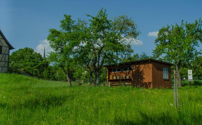Bienenhaus aus Fladungen, Landkreis Rhön-Grabfeld