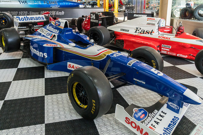Williams FW 18; 720 PS; Baujahr: 1996