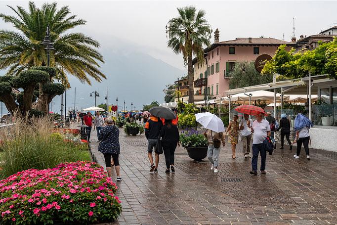 Auch am Gardasee fällt Regen