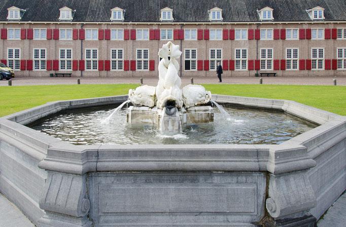 Palais Het Loo, schöner Springbrunnen