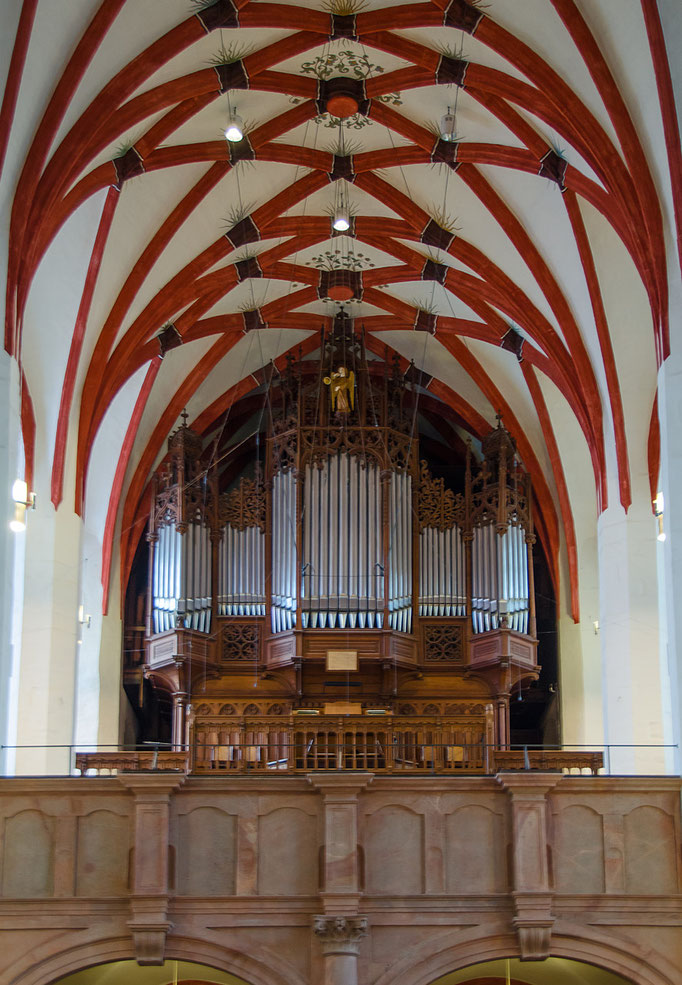 Thomaskirche, Orgel