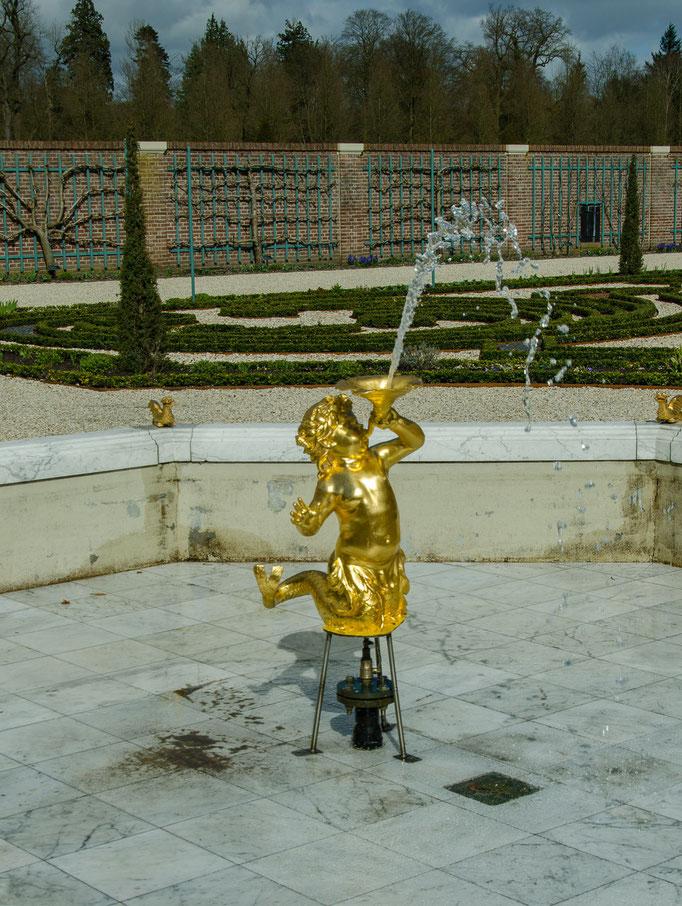 Palais Het Loo, noch leere Brunnenanlage