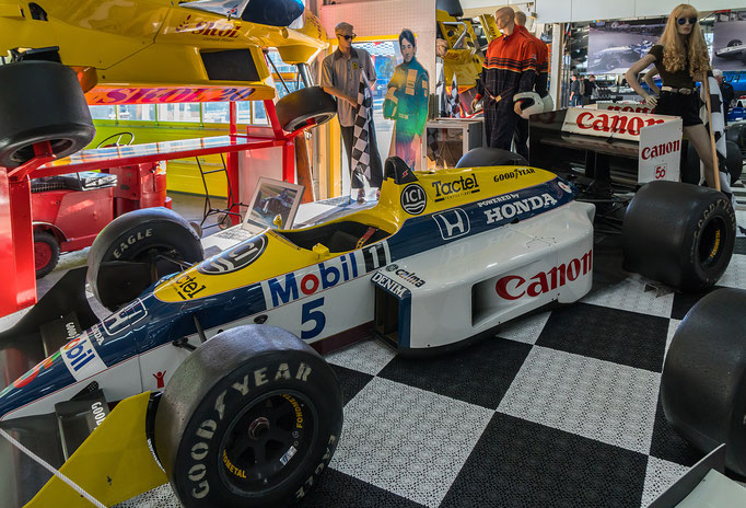 Williams FW 11 B; 850 PS; Baujahr: 1987