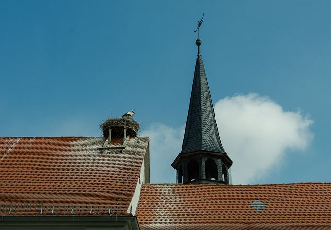 Ipsheim, Kirchendach