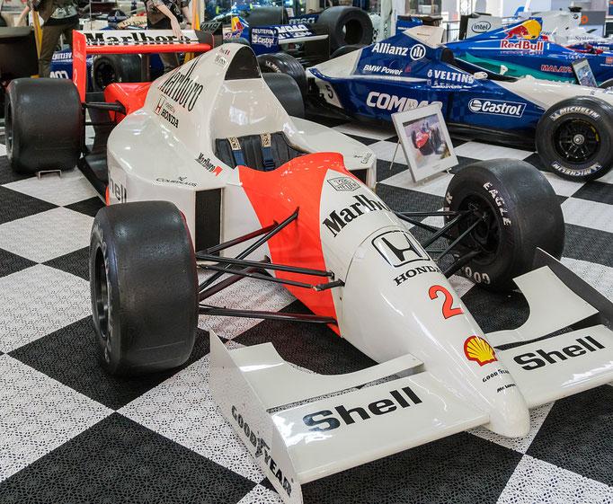 McLaren-Honda 11 B; 850 PS; Baujahr: 1989