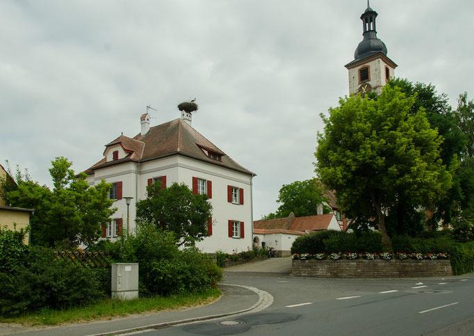 Gerhardshofen, Pfarrhauskamin