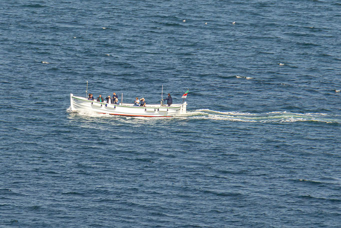 Mit dem Börteboot einmal um die Insel