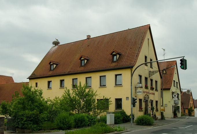 Gerhardshofen, Kamin Gasthaus zur Krone