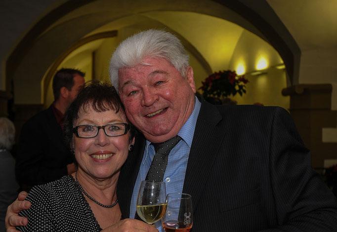 Helga Schraut und Helmut Schäff (Ehrenpreisträger 2014)