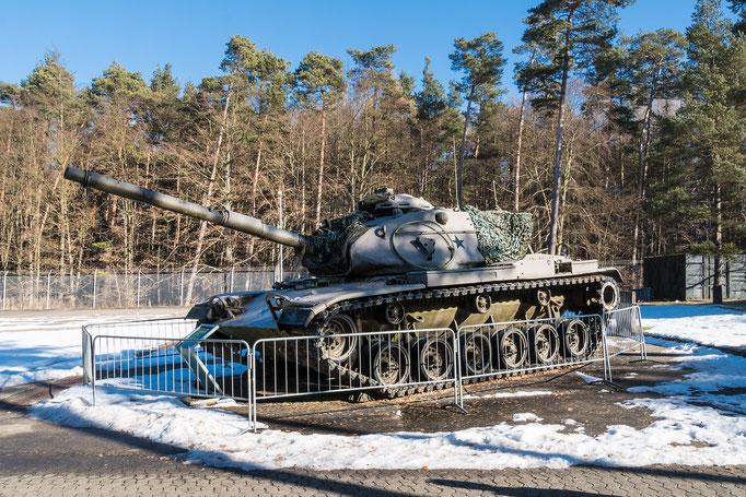 Kampfpanzer M60 A3 der US-Streitkräfte