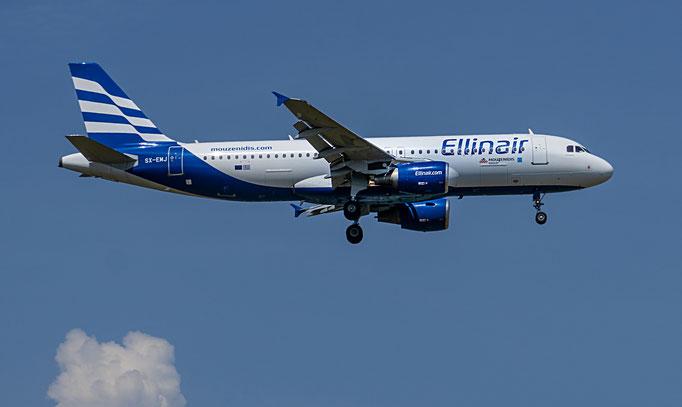 Ellinair ist eine griechische Fluggesellschaft mit Sitz in Thessaloniki und Basis auf dem Flughafen Thessaloniki.