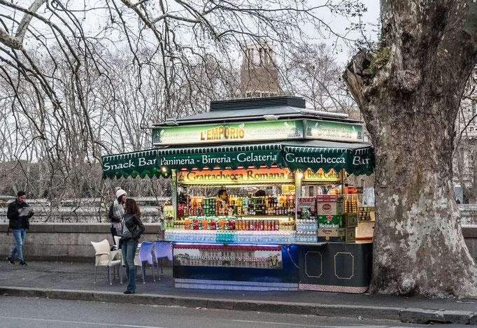 Kiosk an der Umberto-Brücke