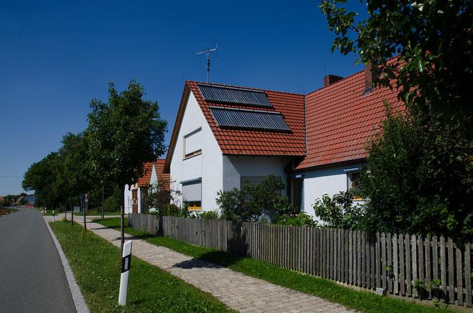 Solarthermie in Dottenheim, Mfr.