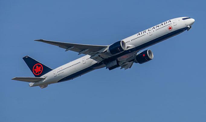 Air Canada mit Sitz in Montreal ist die größte kanadische Fluggesellschaft sowie Gründungsmitglied der Luftfahrtallianz Star Alliance.