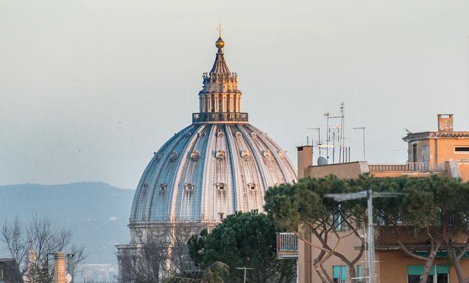 Die Kuppel des Peterdoms