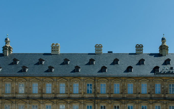 Das Dach der Neuen Residenz