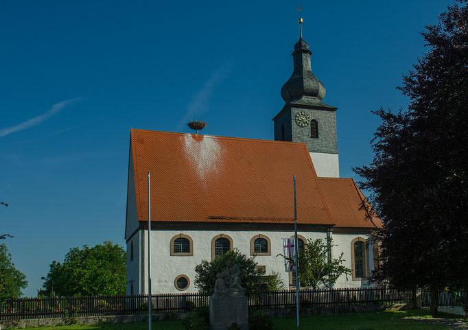 Lenkersheim, Kirchendach