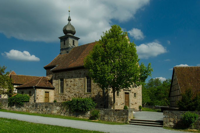 Katholische Kuratiekirche aus Leutershausen, Landkreis Rhön-Grabfeld