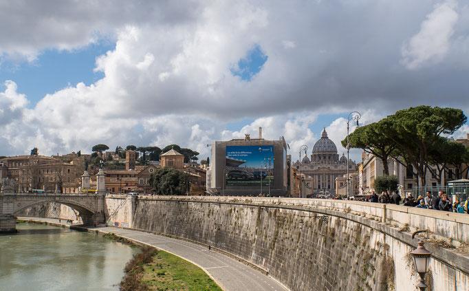Blick zum Vatikan